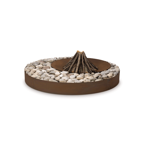 Zen Outdoor Design fire pit