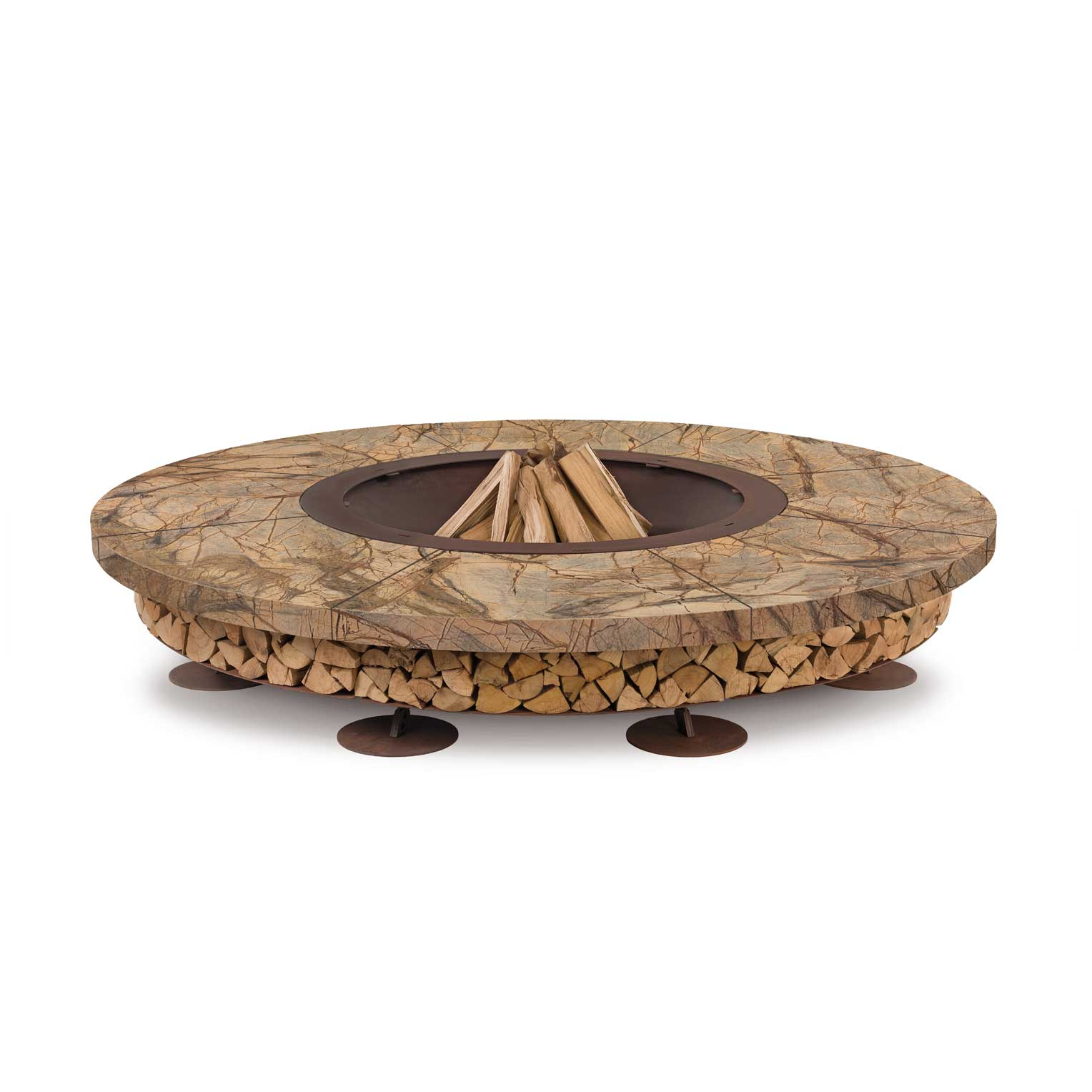 Outdoor Firepit Ercole Rain Forest by AK47