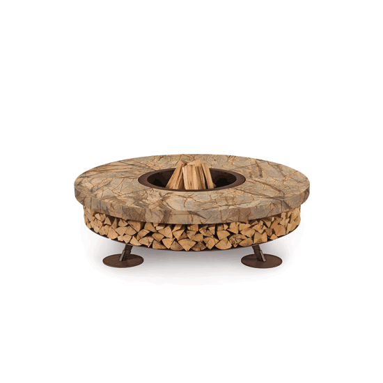 Ercole small Outdoor Design fire pit