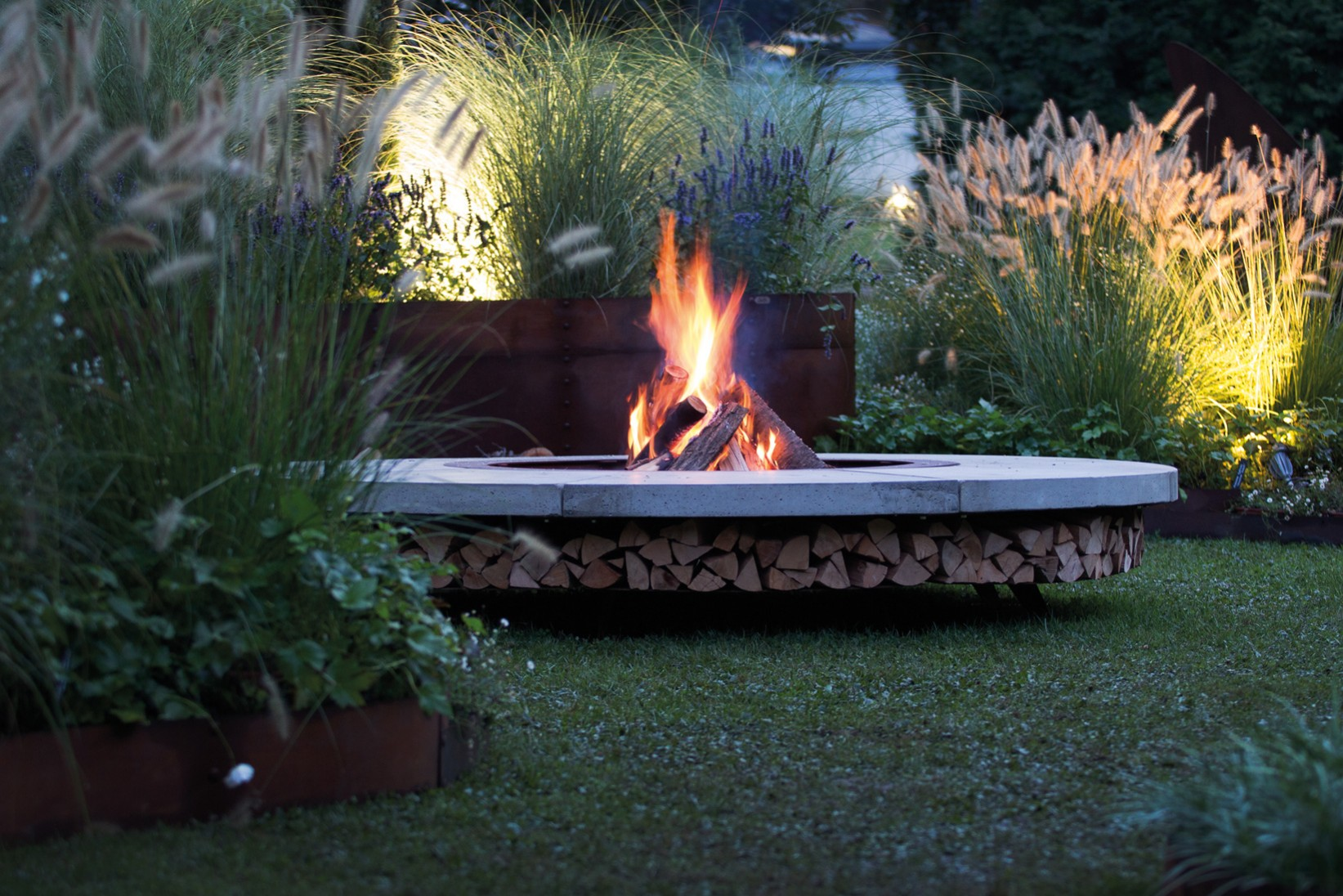 Outdoor Firepit Ercole by AK47