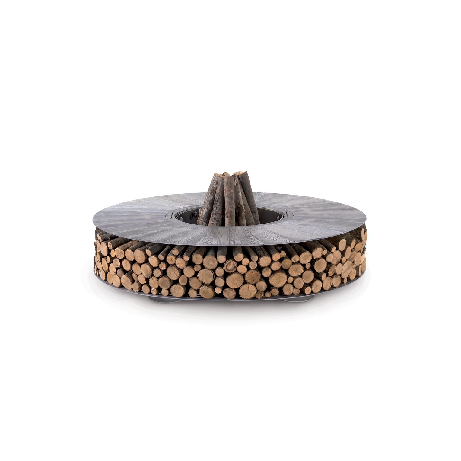 Zero aluminium Outdoor Design fire pit