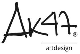 AK47 design logo
