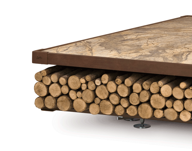 Opera Wood Wood-Burning Fire Pit