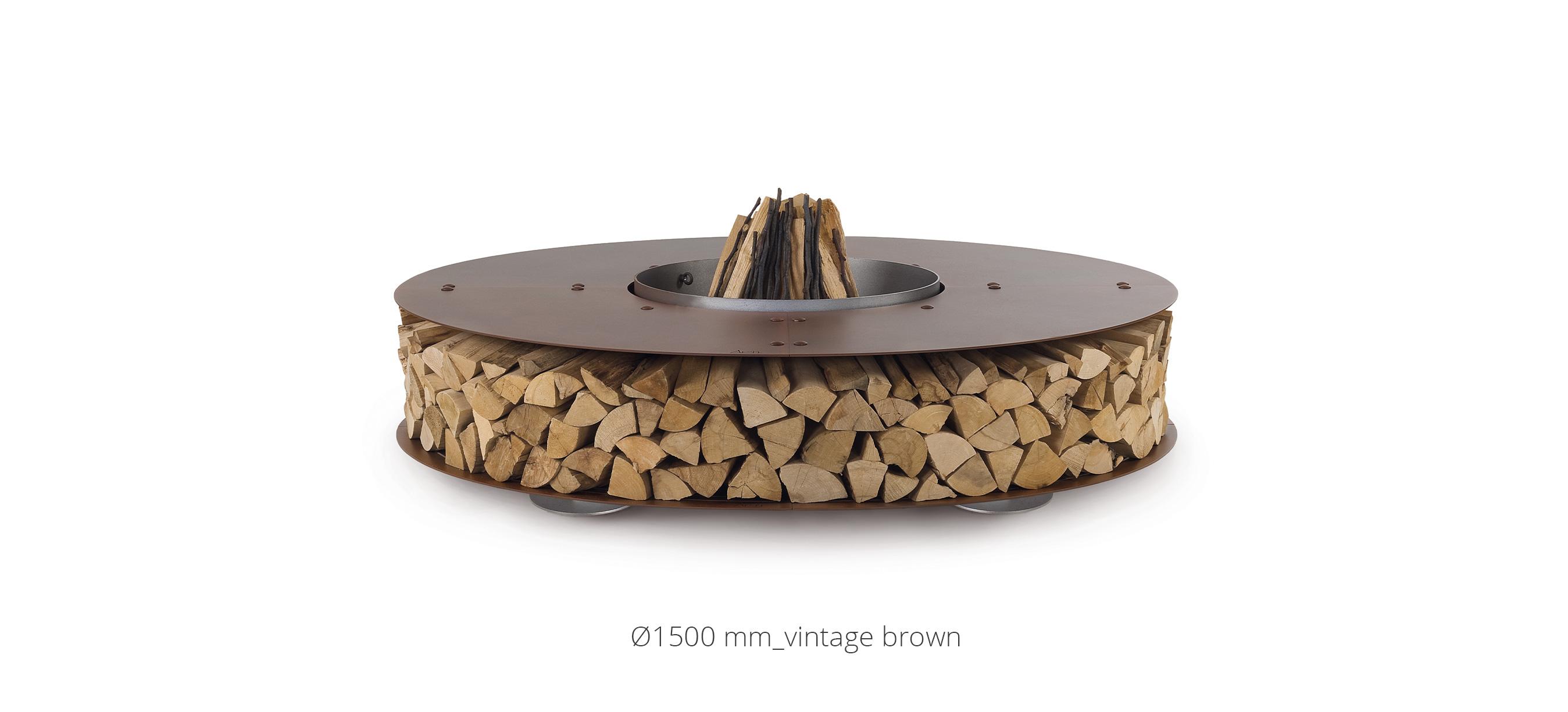 Zero Oxidised XSmall Wood-Burning Fire Pit