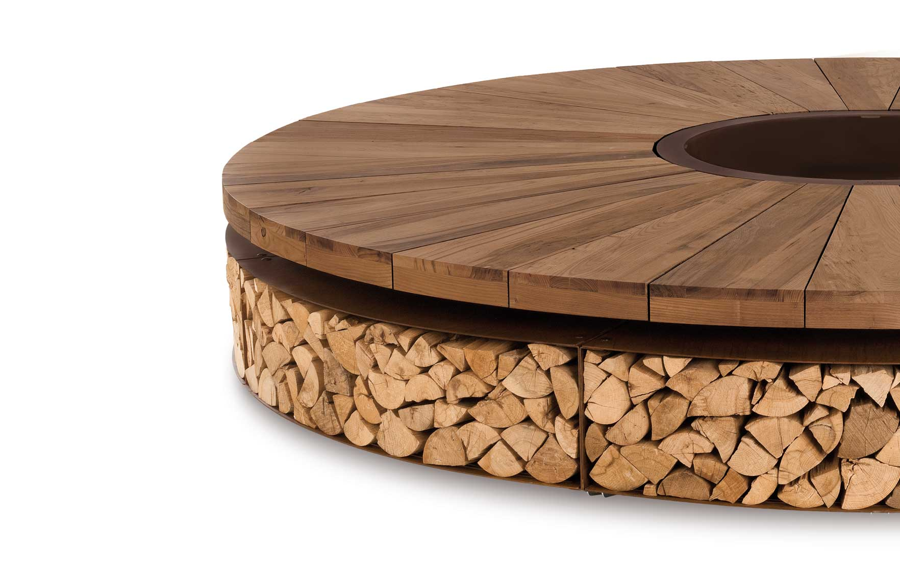 Artu' Wood-Burning Fire Pit