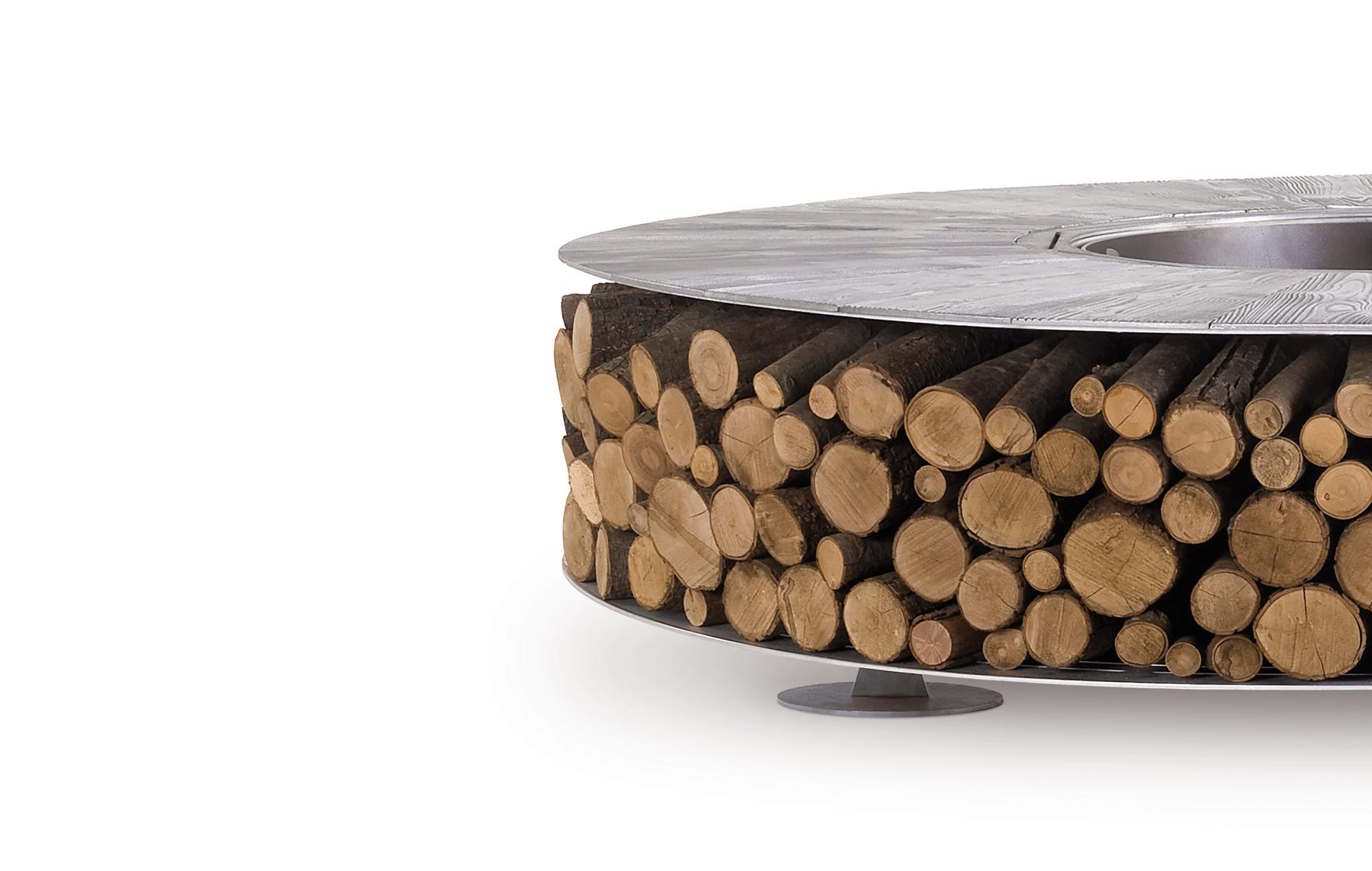 Zero Iron Medium Wood-Burning Fire Pit